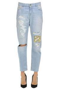 Jeans Donna twin-set jeans in offerta 80%