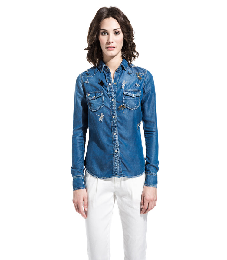 6a8367c76d Camicie Donna roy rogers in offerta 50%