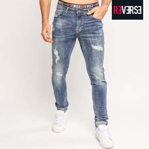 Jeans Uomo re-verse in offerta 50%