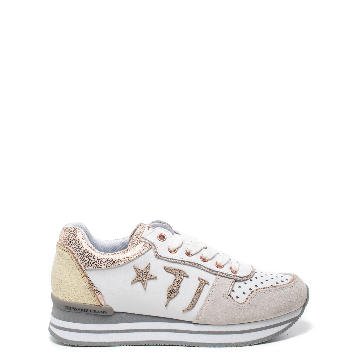 Sneakers Jeans In Offerta Trussardi Donna 50 OnrPOTx