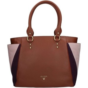 Guess Hwbosu L8123 Shopping Cognac Tote bag Borsa shopping