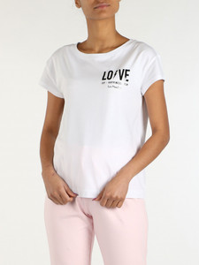 T-Shirt & Polo Donna love moschino in sconto 19%