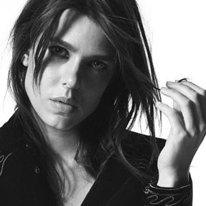 Charlotte Casiraghi protagonista dell' ultima campagna Saint Laurent
